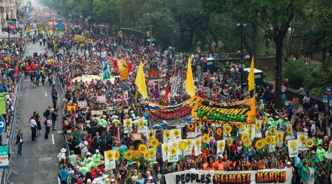 """世界の""""Climate March""""、日本の""""気候マーチ"""""""