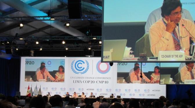 COP20@リマ インターン活動報告(2)気候変動交渉をめぐる先進国と途上国の対立をどう考えるか