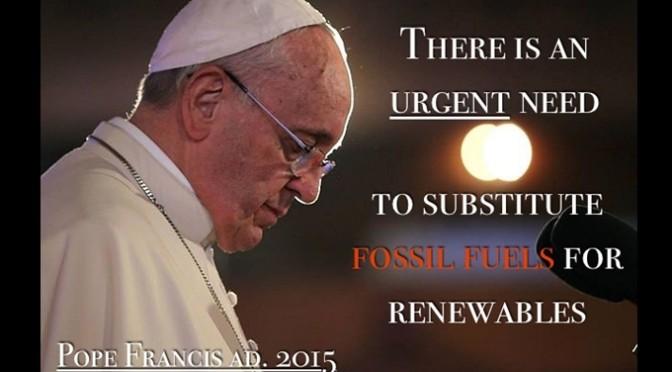 フランシスコ教皇が気候変動に対する国際的な行動を「回勅」で呼びかけ