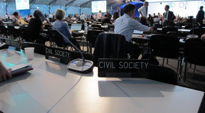 COP20@リマ インターン活動報告(3)国際交渉におけるNGOの役割とは?