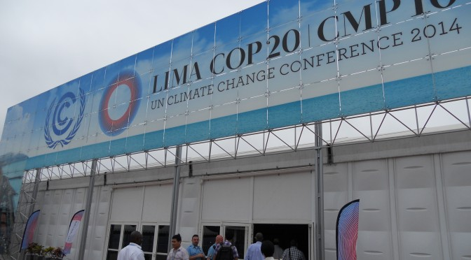 COP20@リマ インターン活動報告(1)~国が違えば利害も違う!?~