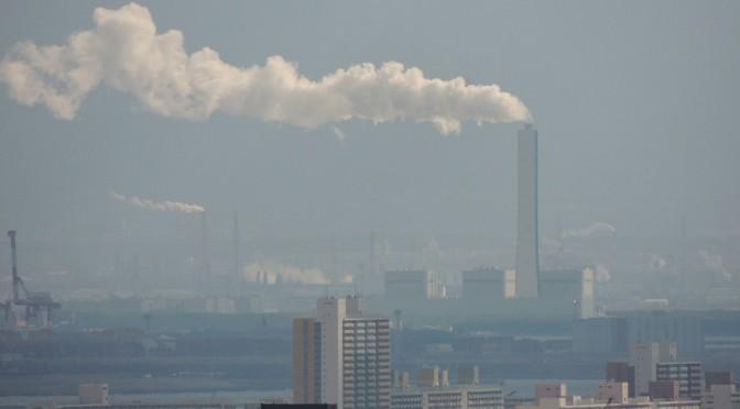 石炭エネルギーが地産地消!?神戸製鋼に公害患者の声を届ける